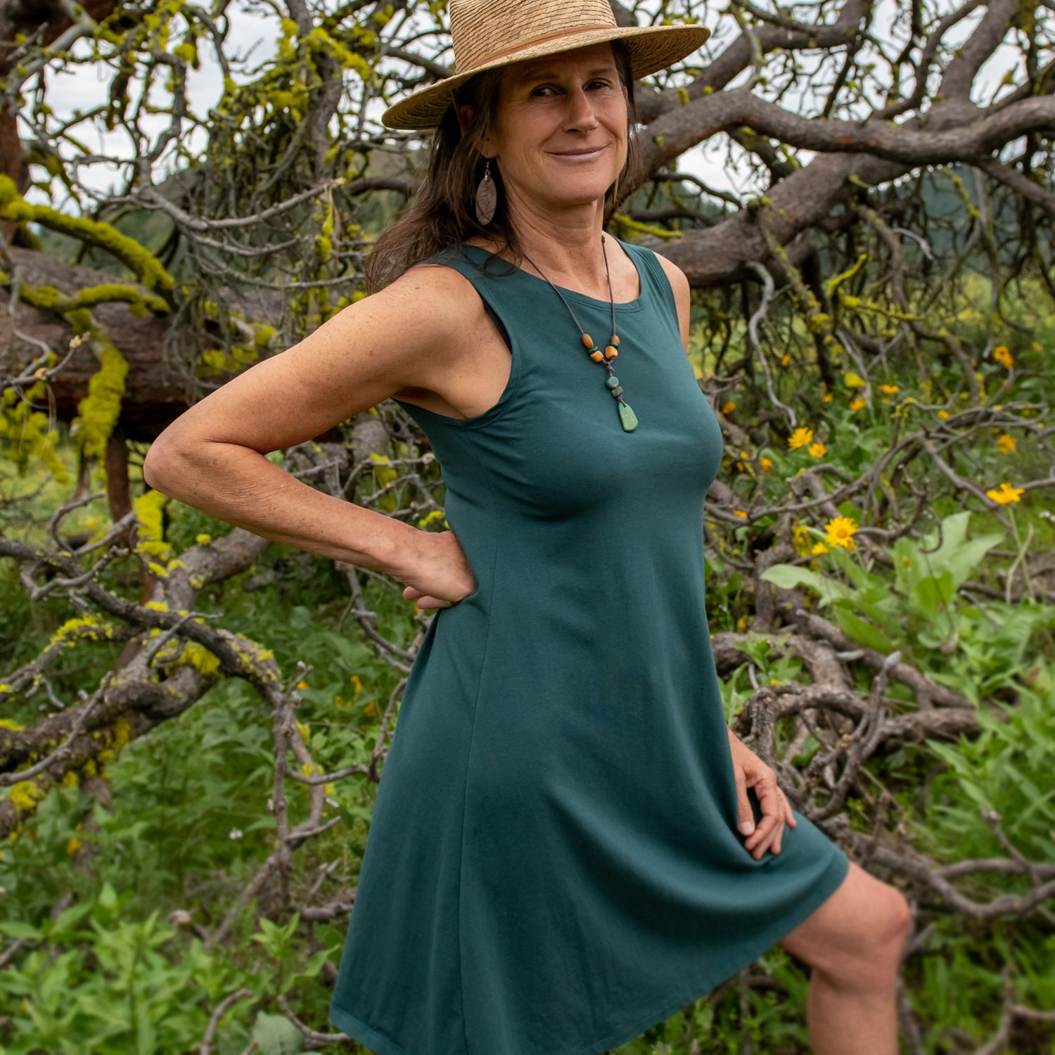 Organic Soy - Aster Tank Dress