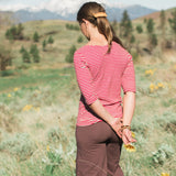 Hemp Penelope Shirt - elbow sleeves