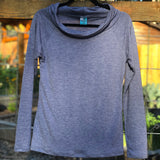 Merino Wool Journey Cowl Shirt ~ Long Sleeves