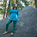 Merino Wool Santosha Shirt - Tunic length