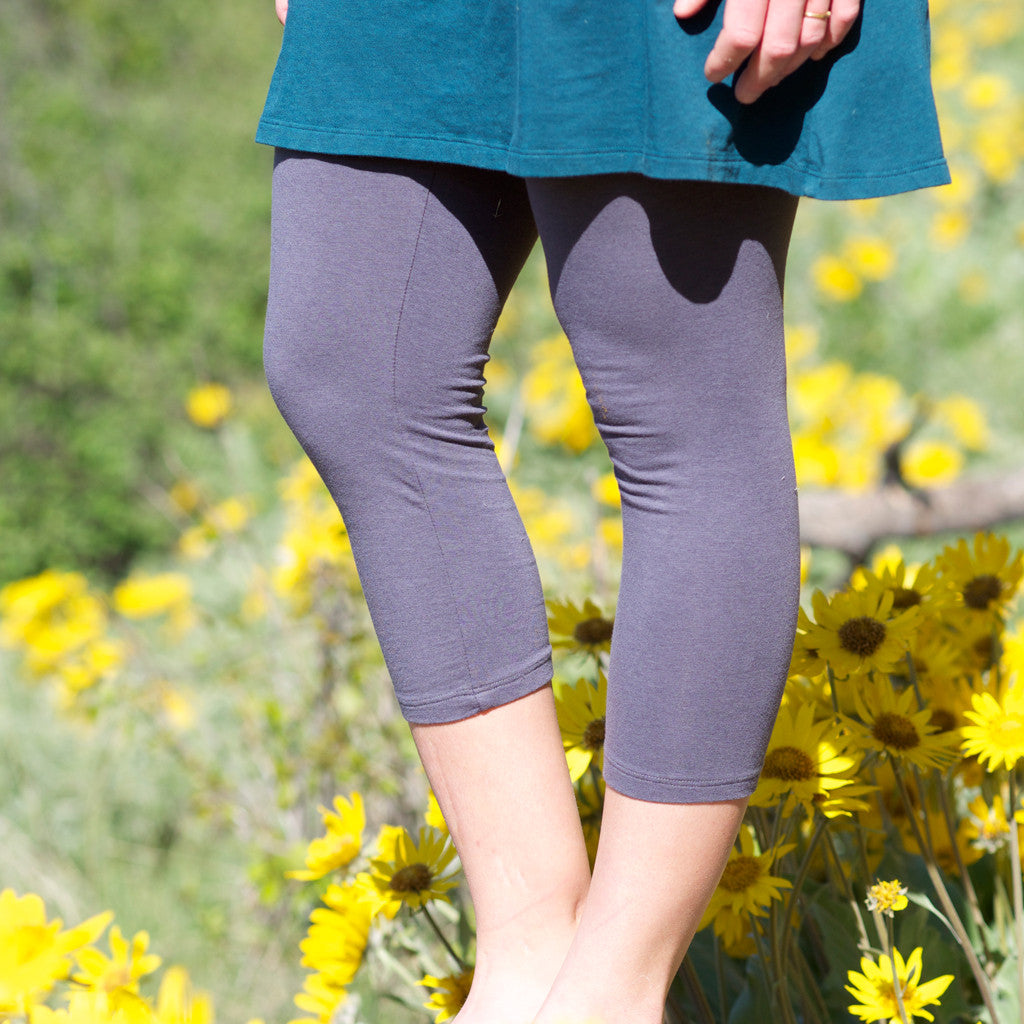 Soy Luscious Capri Tights - Organic Leggings