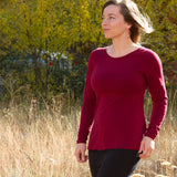 Organic Soy - Aster Shirt - Long Sleeve