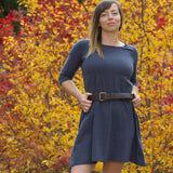 Hemp Aster Fall Dress