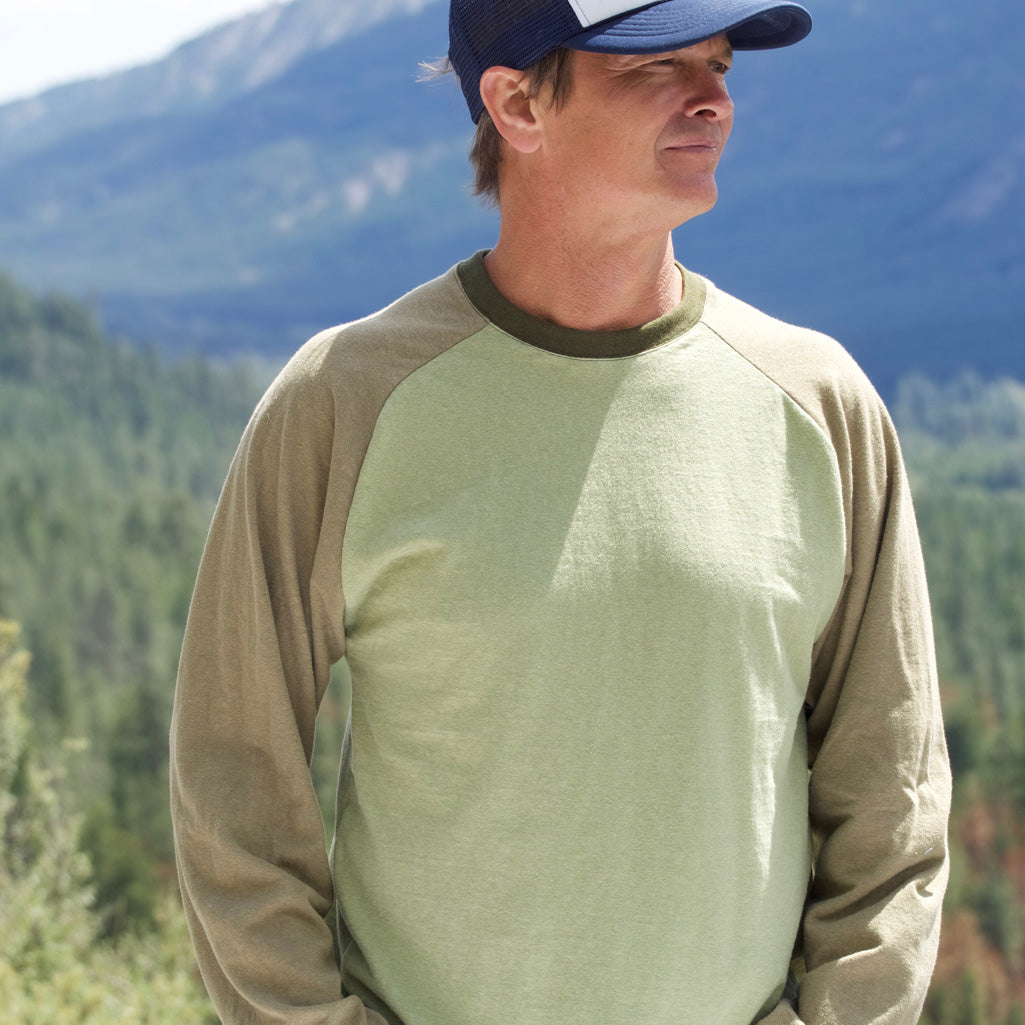 Men's Hemp Baseball Jersey