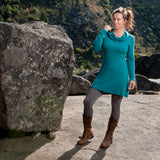 Merino Wool Calla Cowl Dress