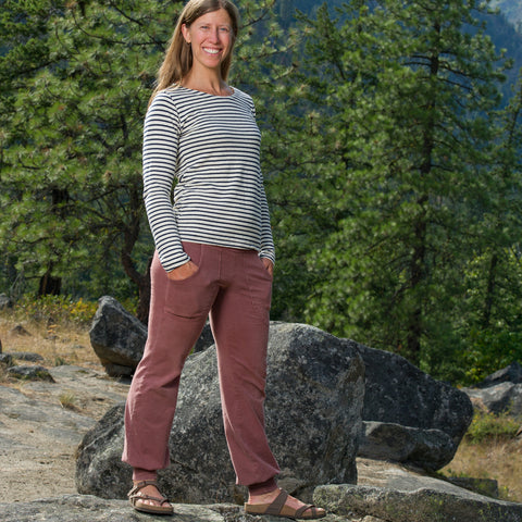 Hemp Nomad Pant ~ Organic Yoga Clothing