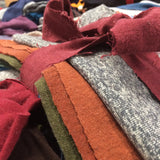 Organic Fabric Scrap Bundles
