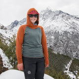 Merino Wool ~ Trail Breaker Hoodie ~ Women's