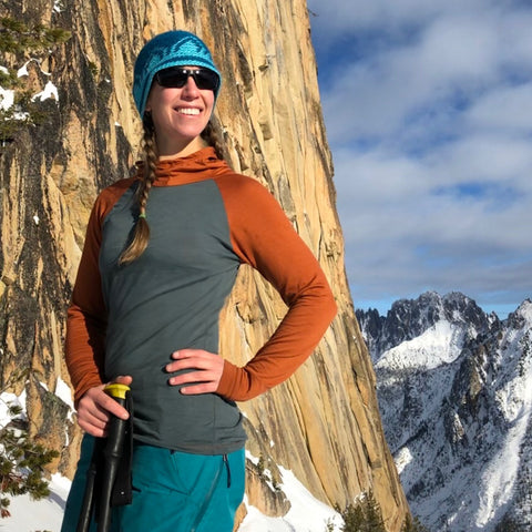 Women's Merino Wool ~ Trail Breaker Hoodie