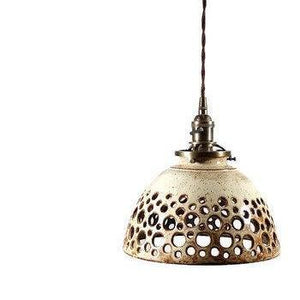 Hand Carved Hanging Pendant Lamp
