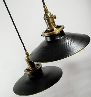 Black Matte Hanging Pendant Lamp