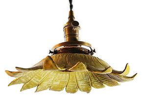 Sunflower Hanging Pendant Light