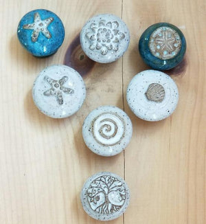 Beach Themed Cabinetry Hardware Knobs