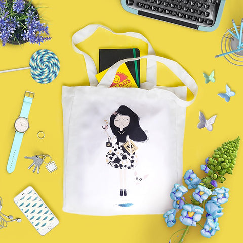 Wilow Canvas Geeky Tote
