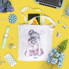 Wilow Canvas Photograph Tote