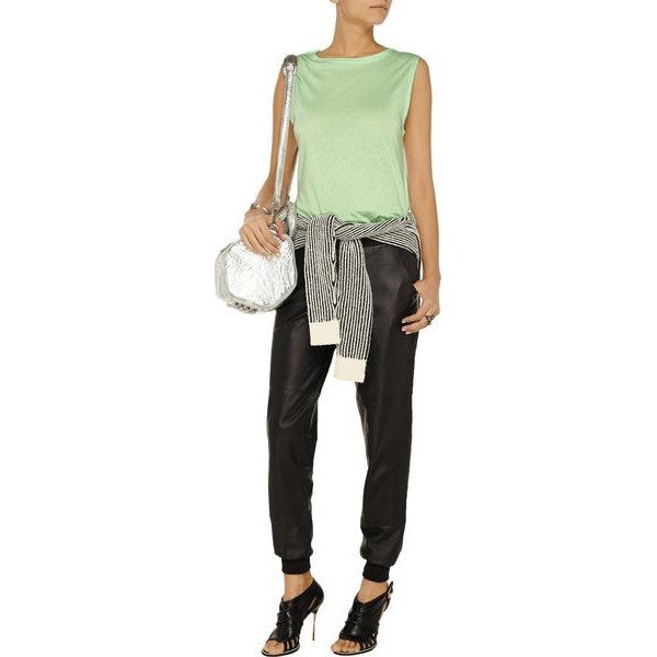 T by Alexander Wang cottons and modal blend tank