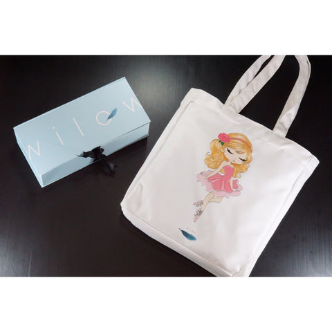 Wilow Canvas Ballerina Tote