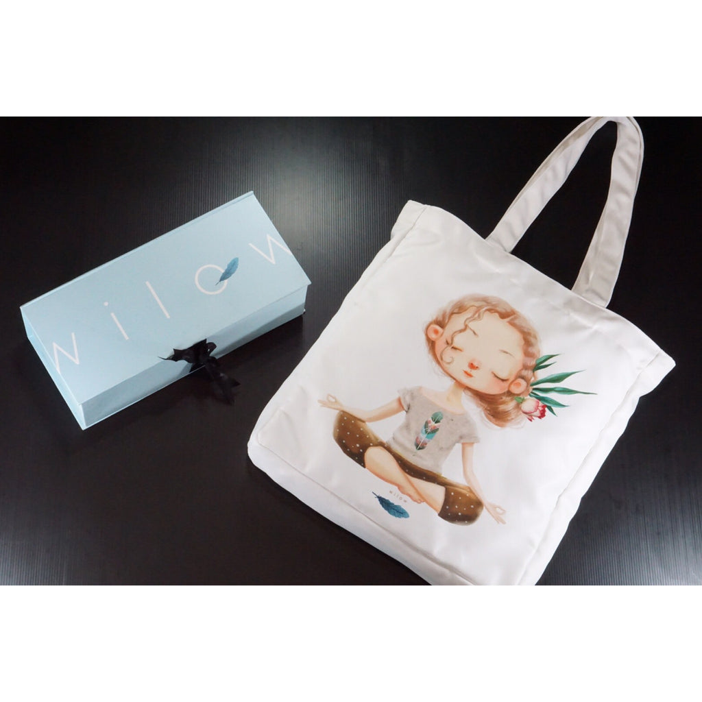 Wilow Canvas Yoga Tote