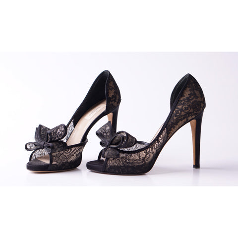 Valentino Garvani Brokat Black