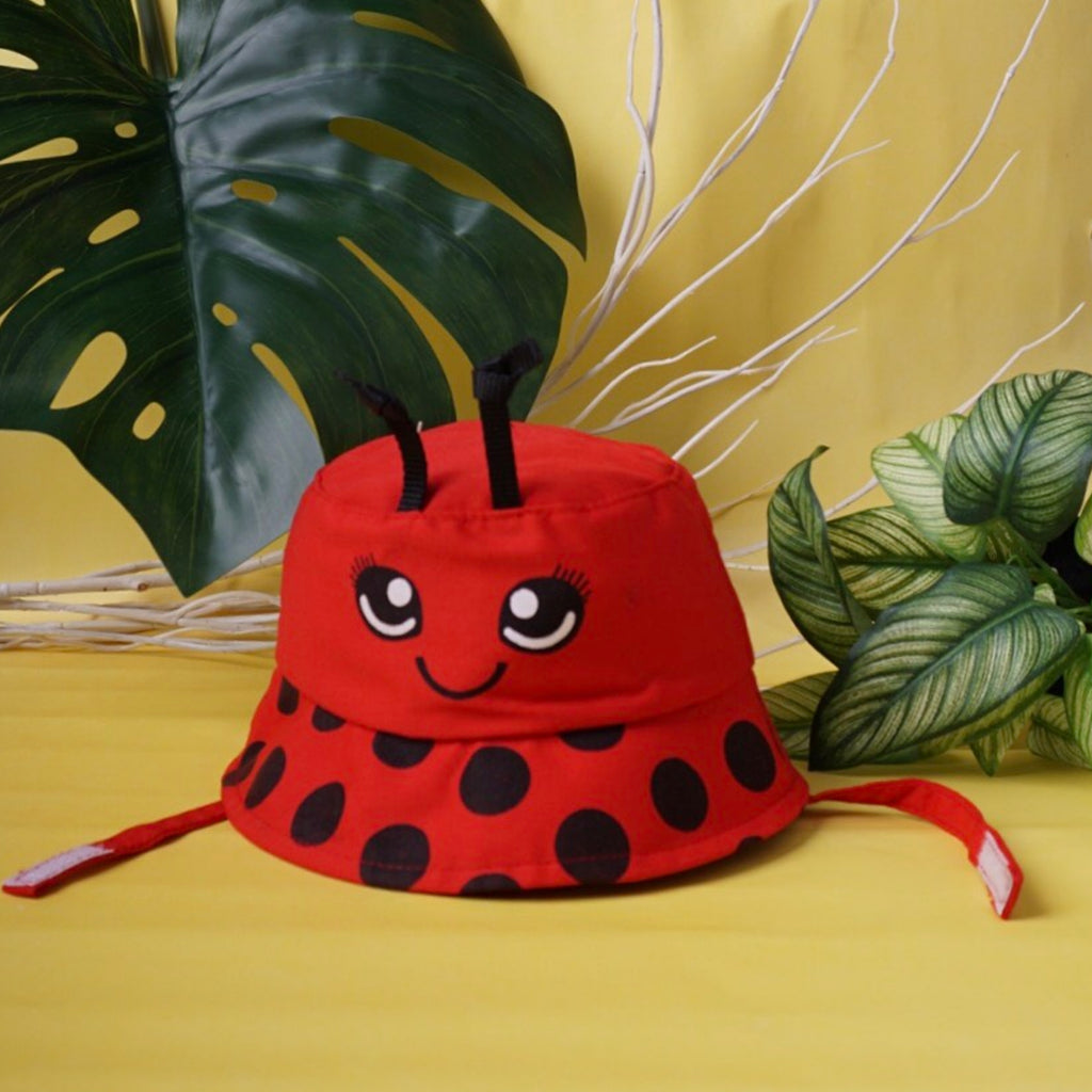 Lady bug Hat mini