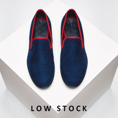 Bullish Blue with Red Trim