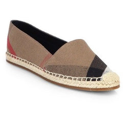 Burberry Espadrilles Checked