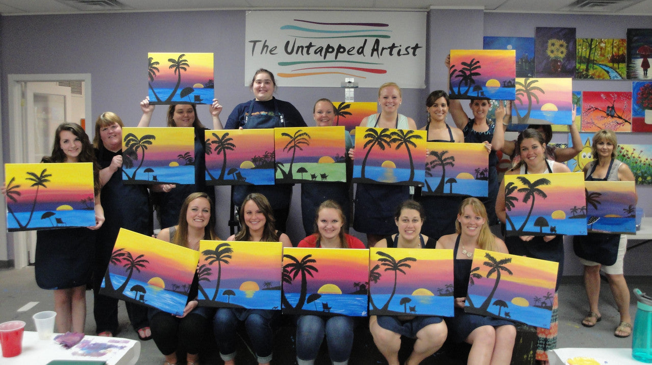 Wine & paint Classes, team building, bachelorette & birthday parties in East Norriton, Conshohocken, Norristown, King of Prussia, Lafayette Hill, Blue Bell, Bridgeport, Plymouth Meeting, Whitemarsh, and Philadelphia, PA.