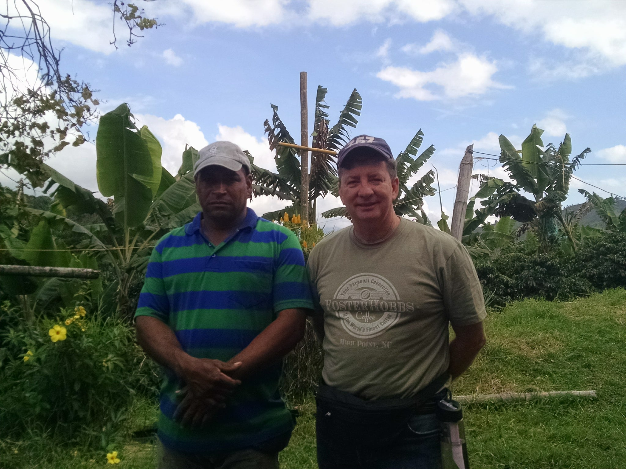 FosterHobbs Coffee with La Minita Coffee Farmer