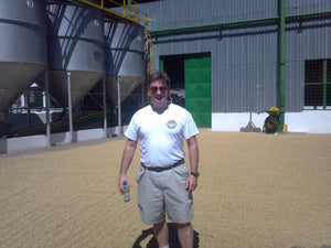 fosterhobbs coffee roaster mike foster at la minita coffee farm in costa rica
