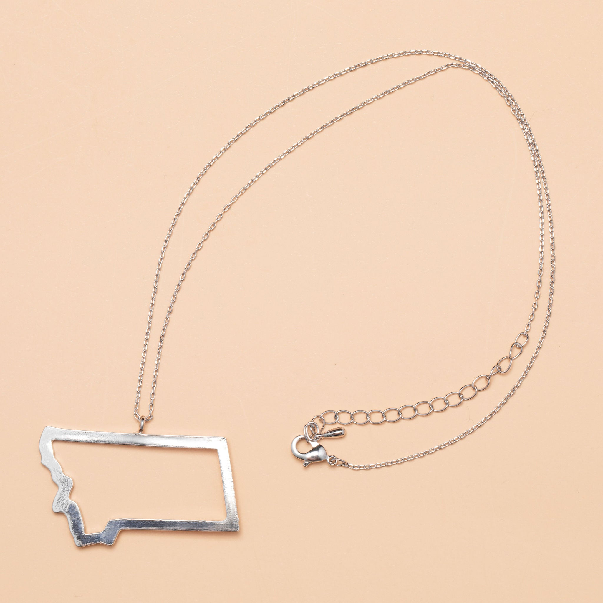 Last Best Place Necklace in Silver