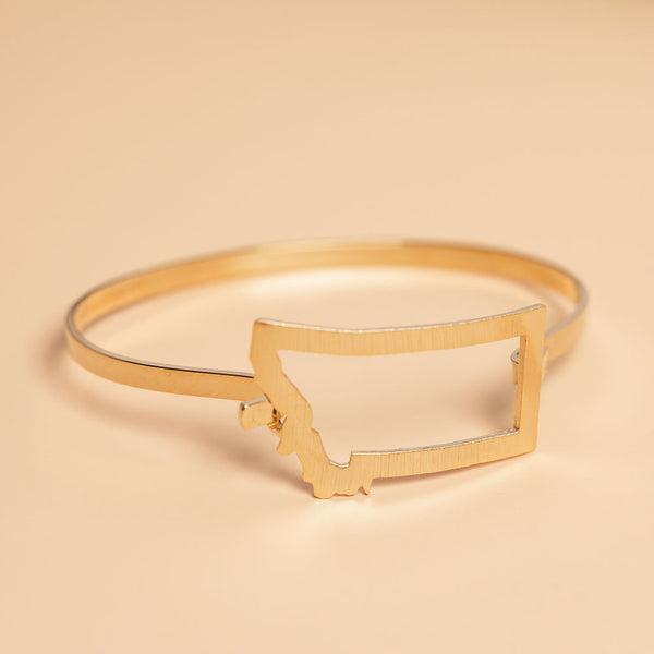 Under The Big Sky Bracelet in Gold