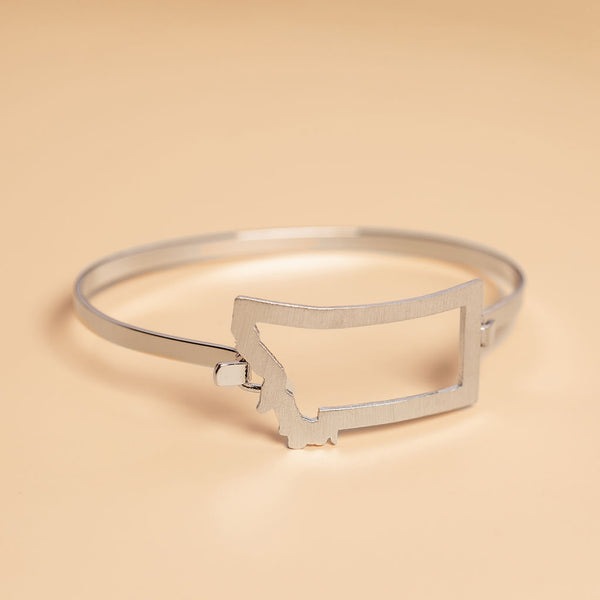 Under The Big Sky Bracelet in Silver
