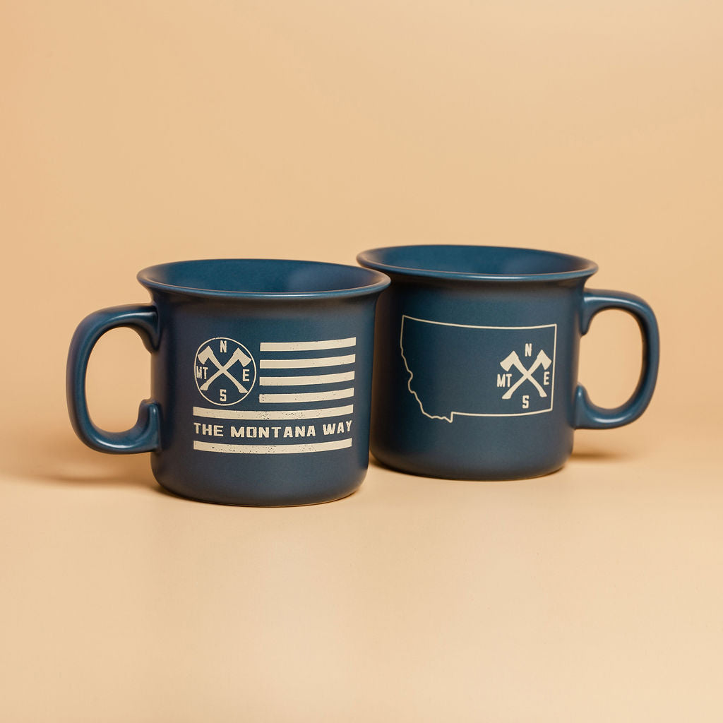 The Jefferson Mug in Blue