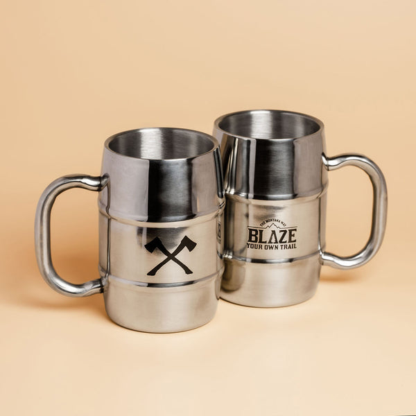 The Barrel Stainless Steel Mug