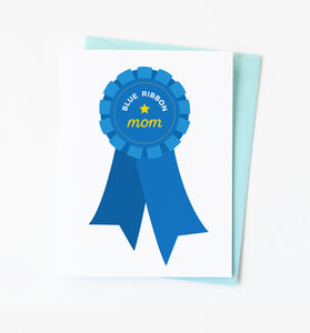 Blue Ribbon Mom