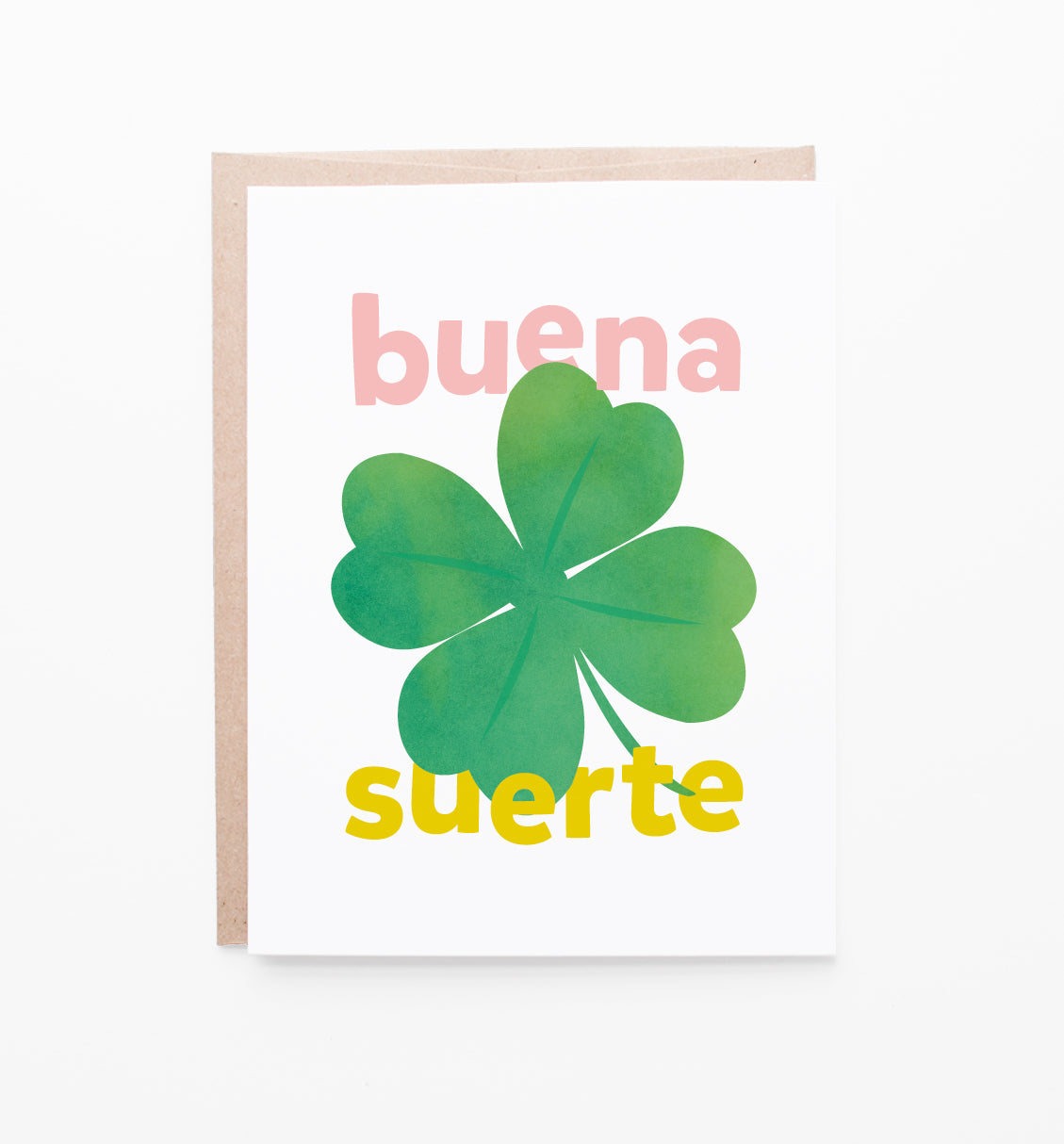Buena Suerte Card Graphic Anthology Llc