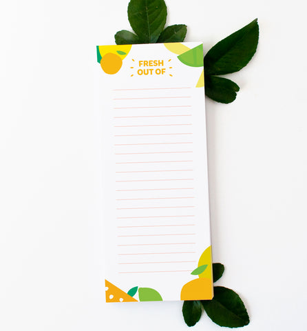 Citrus Grocery List - New!
