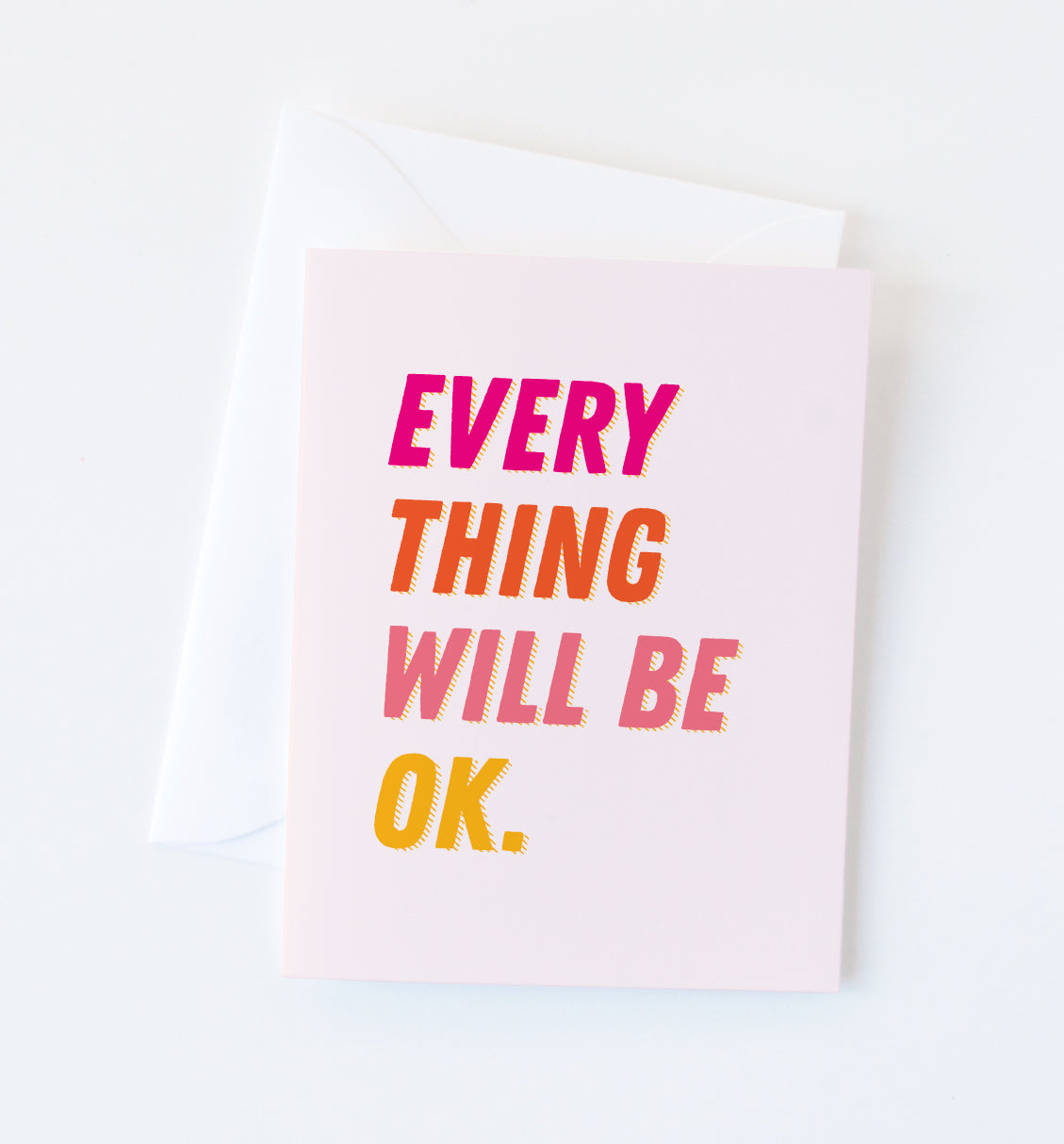 Everything OK card