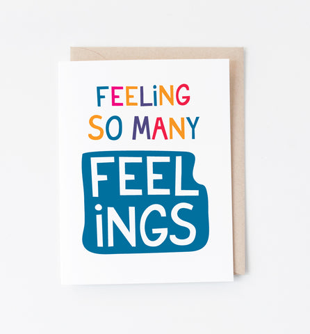 Feelings card