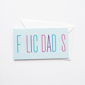 Skinny Felcidades mini card