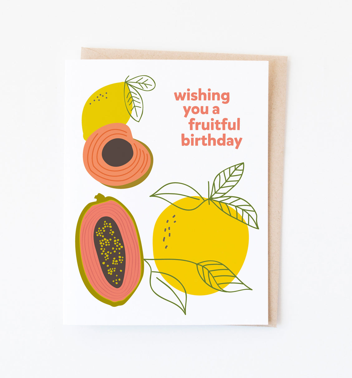 Fruitful Birthday card