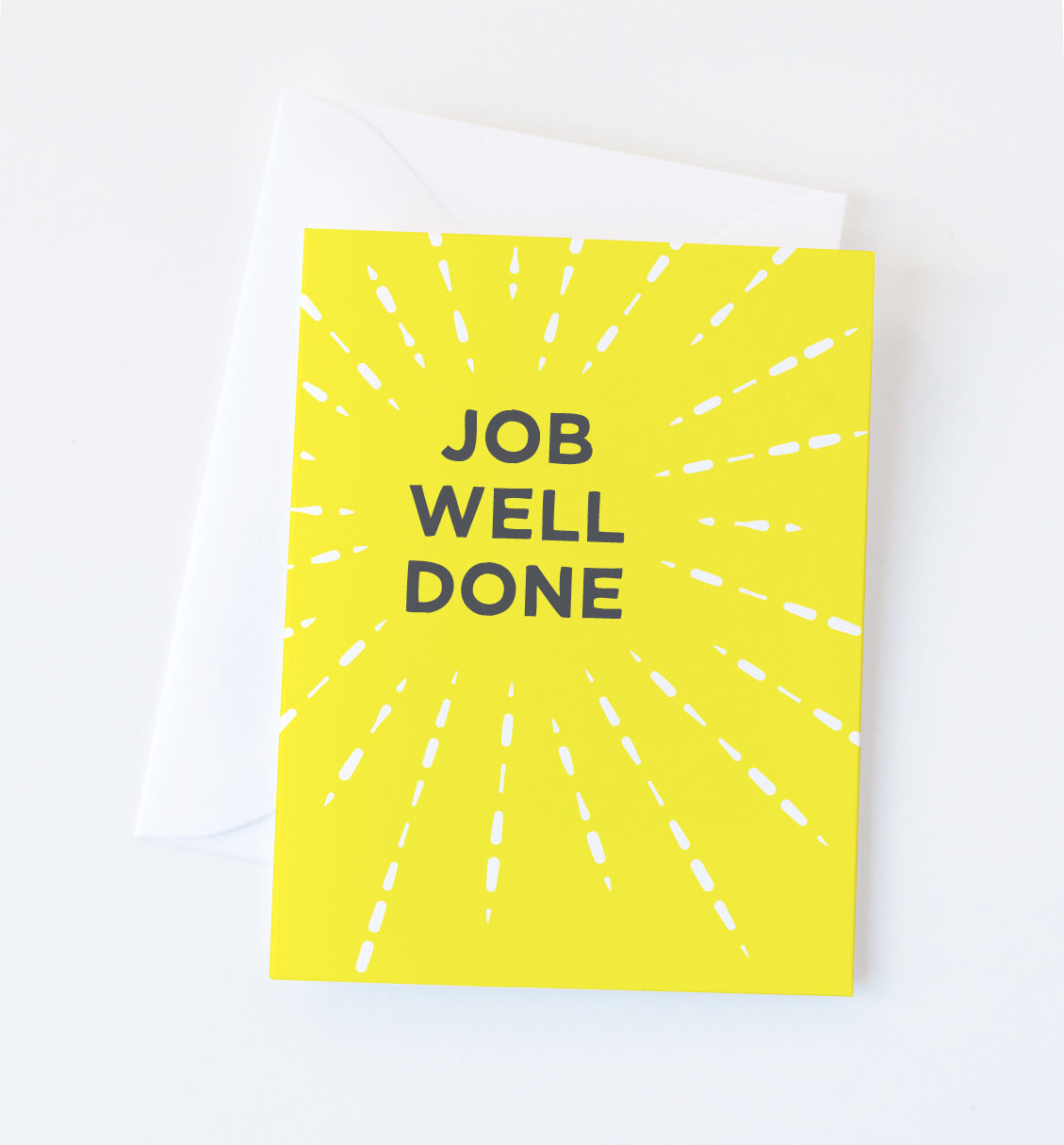 Job Well Done greeting card