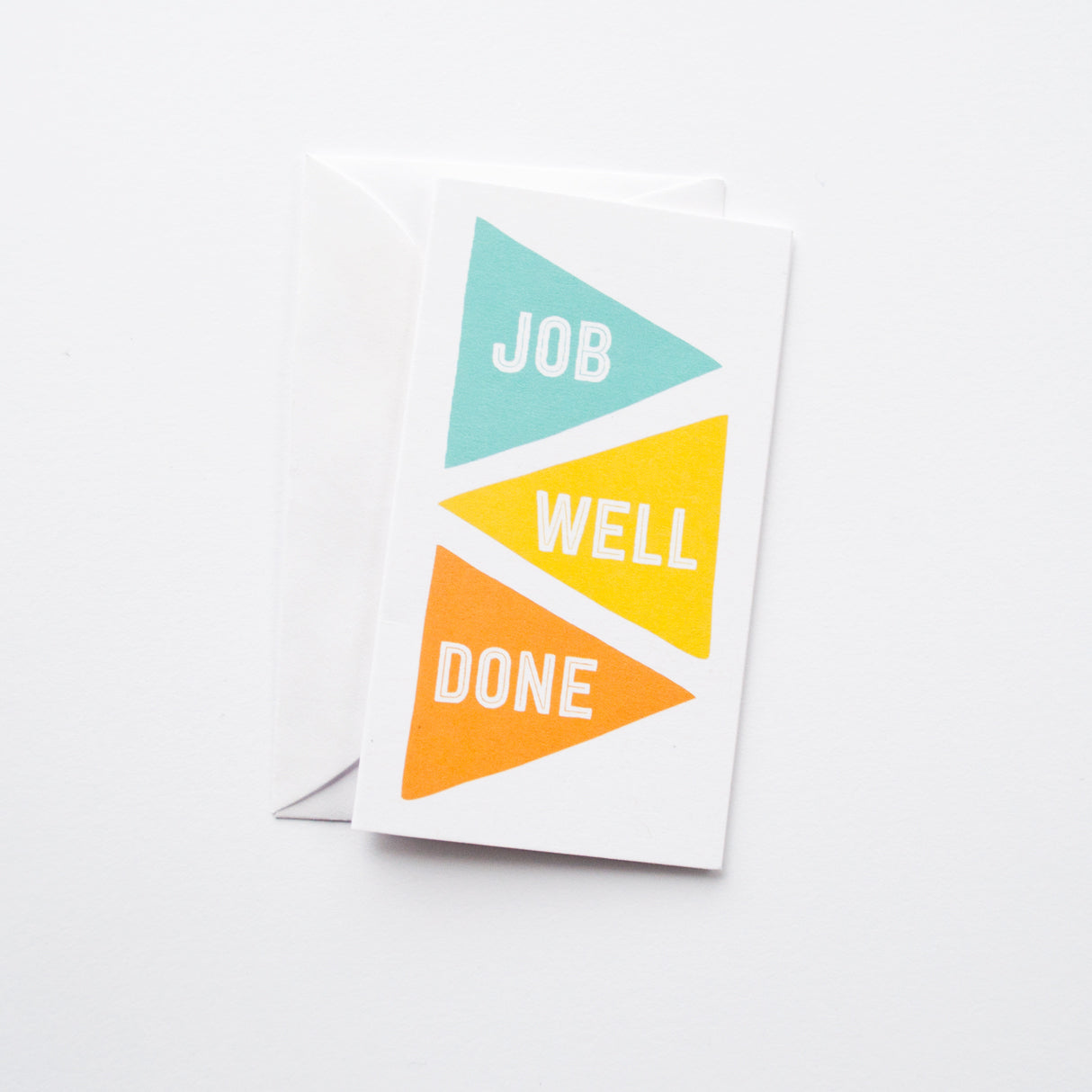 Job Well Done mini card