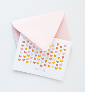 Lots of Love card