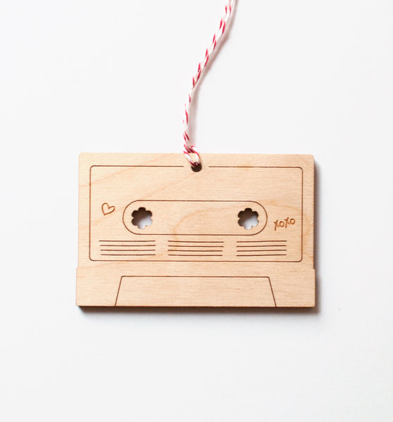 Mix Tape Ornament