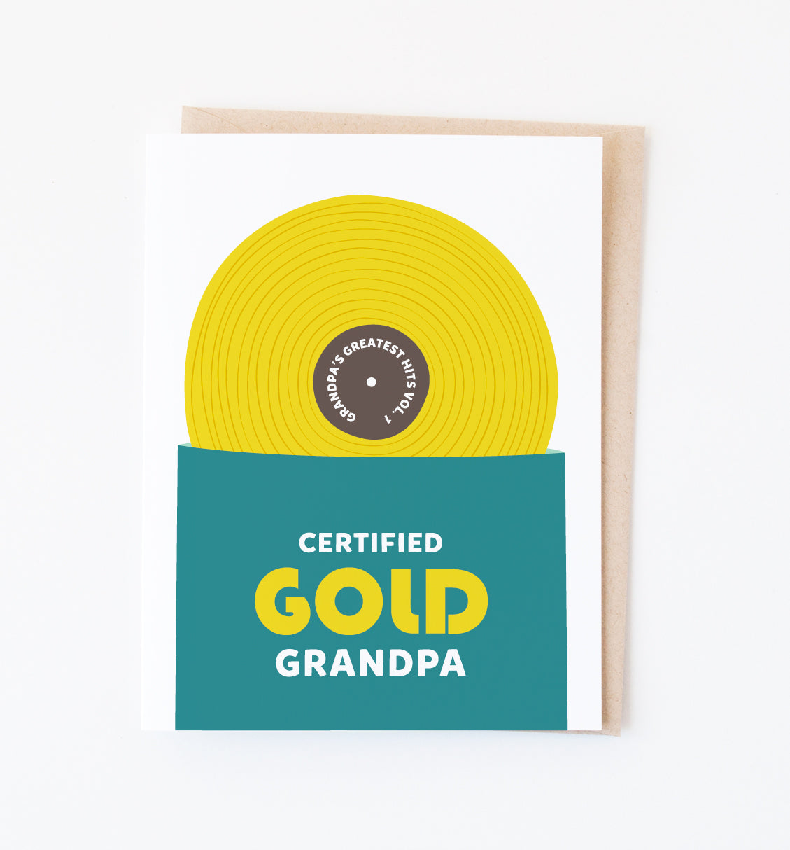Gold Grandpa ~ NEW!
