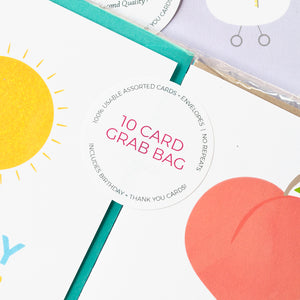 Greeting card grab bag