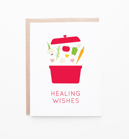 Healing Wishes greeting card