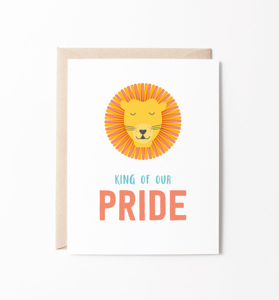 King of Our Pride card