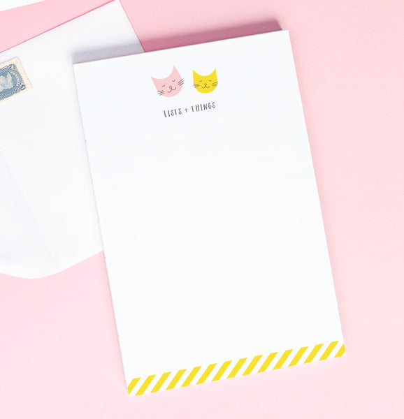 Kitty Friends note pad